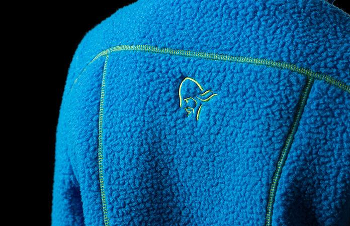 Children fleece jacket - Norrona trollveggen warm2