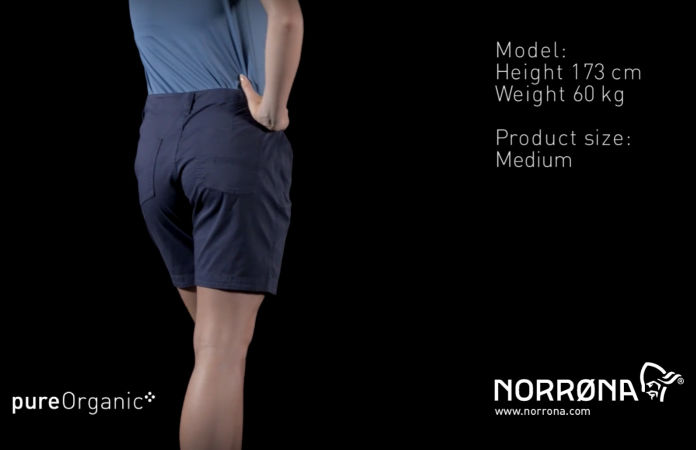 Norrøna /29 organic cotton shorts for women
