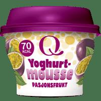 Q® Yoghurtmoussepasjonsfrukt