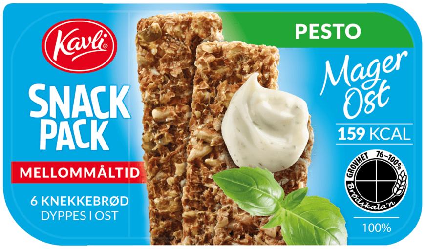 Nyhet: Snack Pack MagerOst Pesto