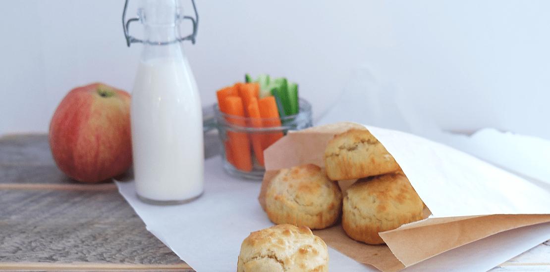 Matpakkemuffins med Kavli smøreost