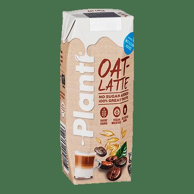 Planti Oat Latte förpackning