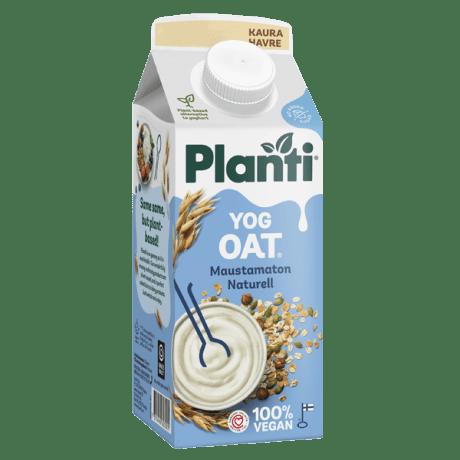 Planti YogOat Naturell förpackning