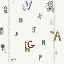 Papel de parede Decoração Infantil Letras Origini 27-40