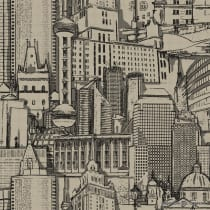 Papel de parede Decoração Cidade Origini R09
