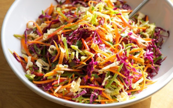 Blood Orange Asian Slaw