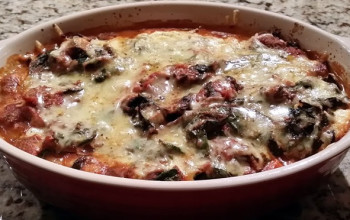 Cottage Cheese/Eggplant Casserole