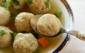 Stuffed and Baked Matzah Balls