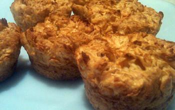 Cinnamon Sugar Farfel Muffins
