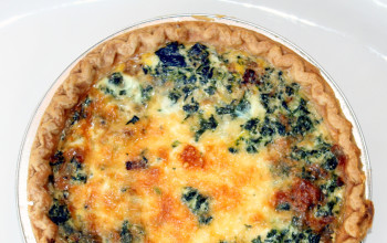 Spinach and Cheddar Puff