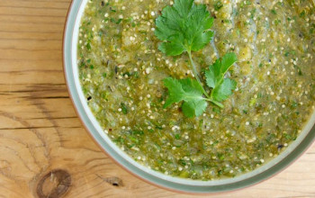 Basic Green Tomatillo Salsa