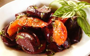 Beet and Orange Salad with Raspberry Vinaigrette