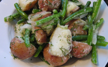 Dilled Green Beans and New Potatoes
