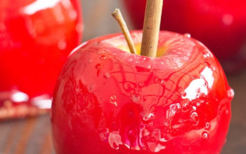 Grenadine Candy Apples