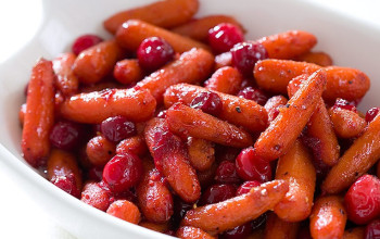 Cranberry-Glazed Carrots