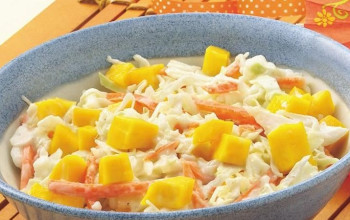 Coleslaw with Mango