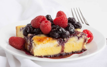 Sour Cream Blintz Souffle