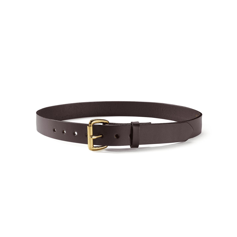 filson 1 1 4 quot bridle leather belt size 46