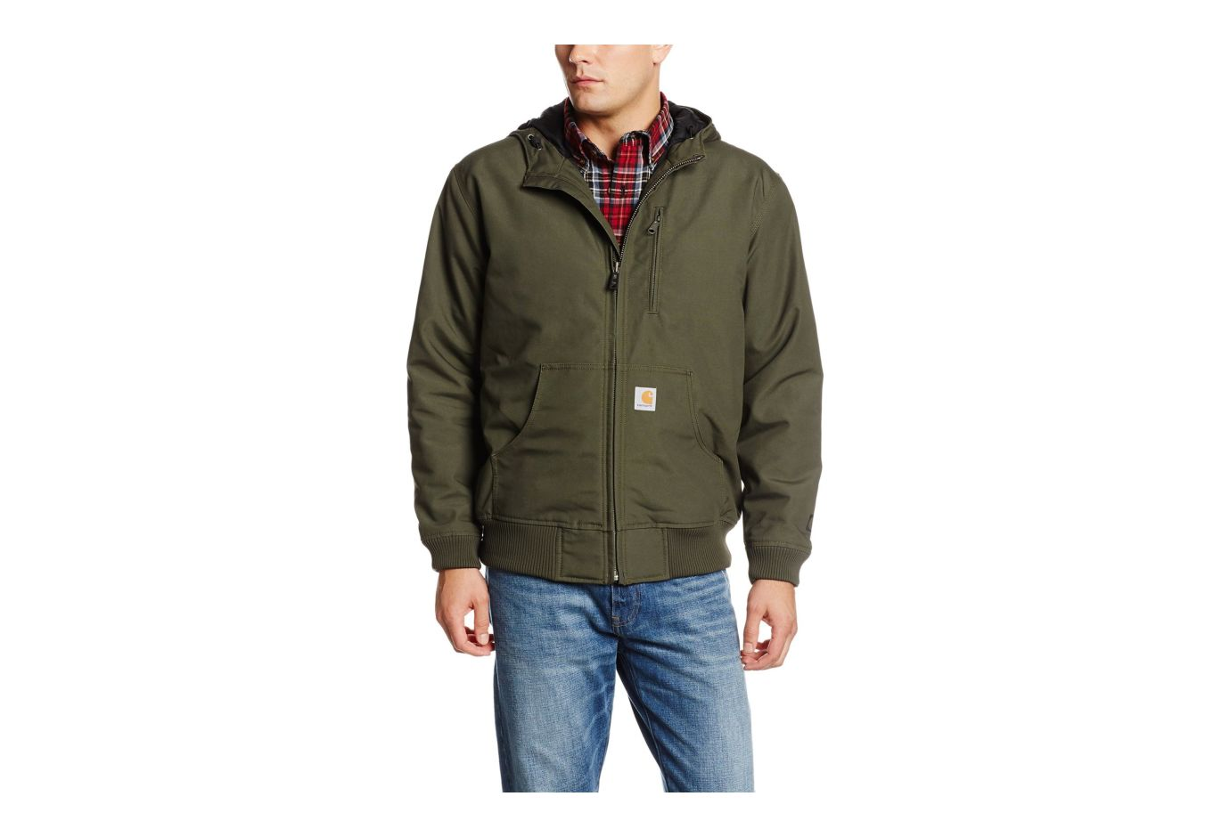 Carhartt Quick Duck Jefferson Active Jacket Olive Xl