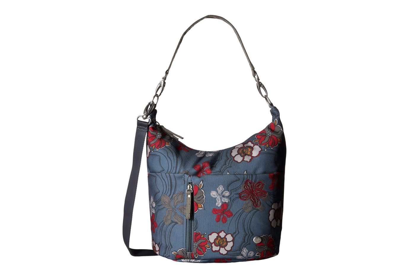 Haiku Ascend Hobo Shoulder Bag River Floral Print