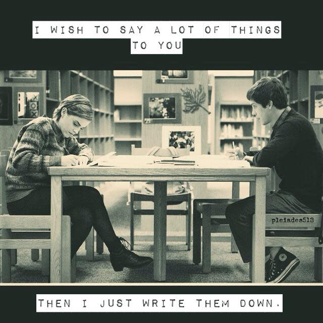 I wish to say a lot of things..