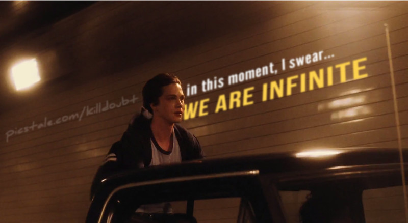 """""""And in this moment, I swear... we are infinite."""" - Stephen Chbosky"""