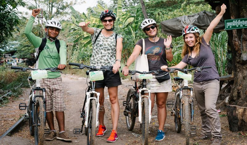 Image result for Bike Ride in Battambang www.angkorcharmingtravel.com