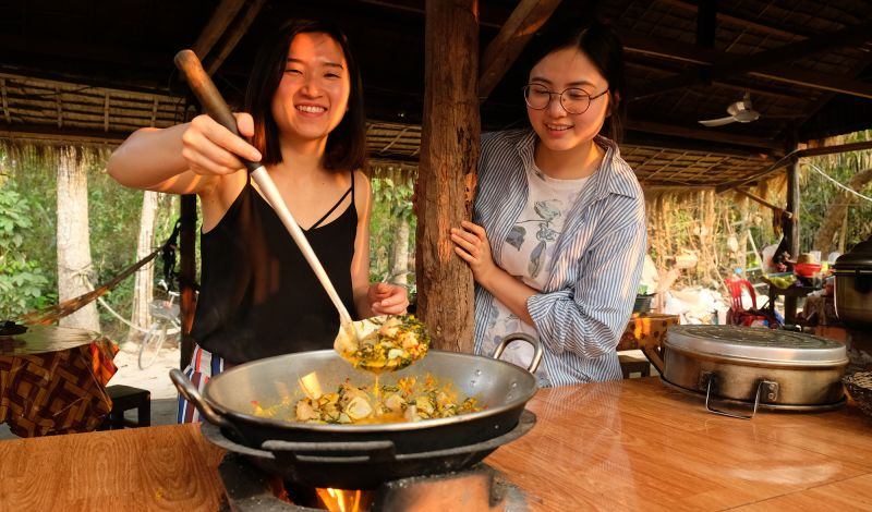 Siem Reap Countryside Cooking Class: Cambodia Culture Tour: Prepare a Local Meal