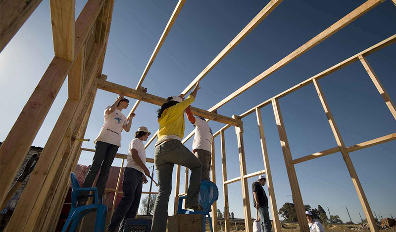 TECHO: Mexico Building Tour: Join a Community Effort to Build Homes