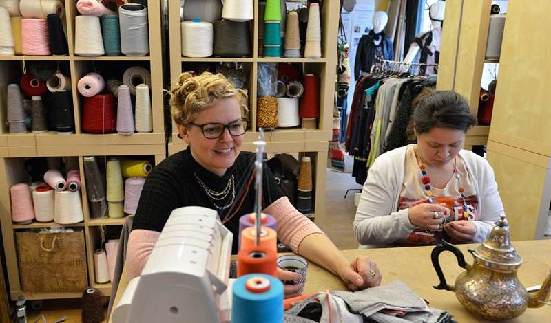 Chaussettes Orphelines: Paris Workshop: Knitting and Sustainable Fashion