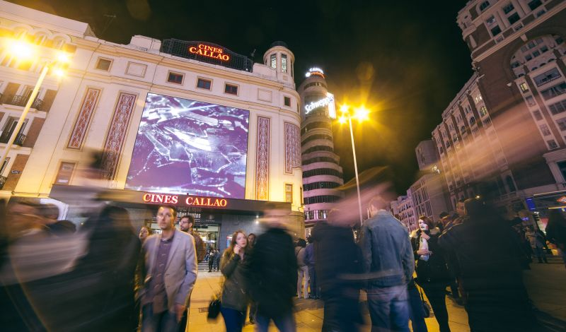 Asociación Cultural Cibeles: Madrid City Tour: Explore Spanish Cinema in Modern Madrid