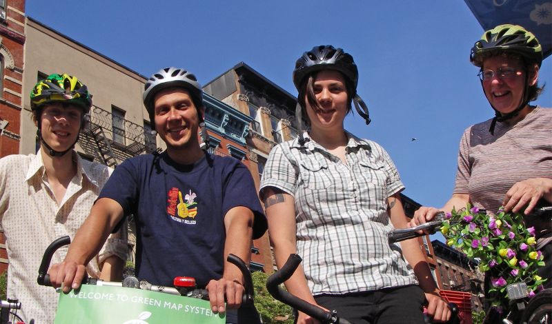 Green Map: Lower East Side City Tour: Walk or Bike for Sustainability