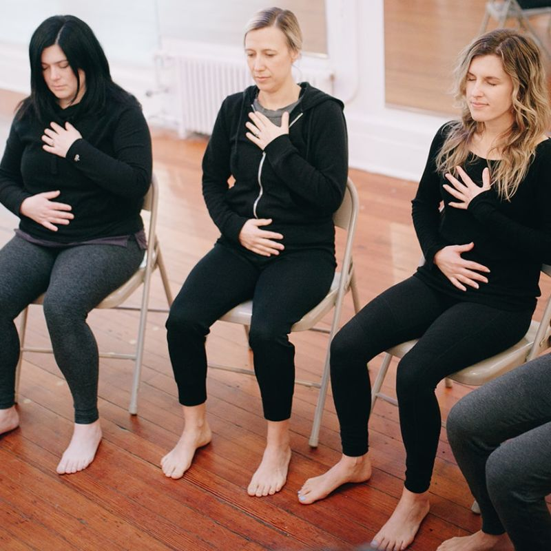 A Yoga Class to Empower Survivors of Domestic and Sexual Violence