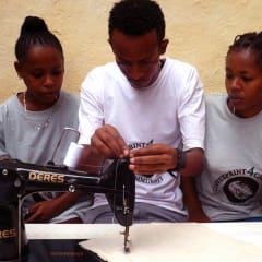 Arba Minch sewing classes - learn to sew