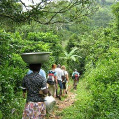 Togo village mountain tour
