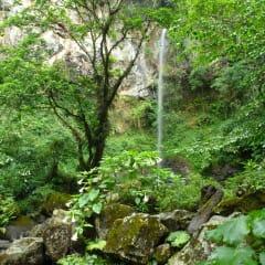 Mount Meru Tanzania waterfalls
