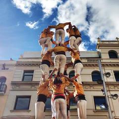Barcelona Human Towers
