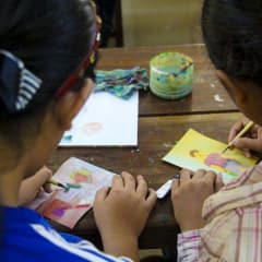 Cambodian paintings workshop