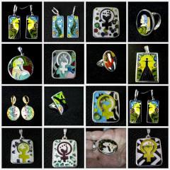 enamel jewelry - handmade souvenir