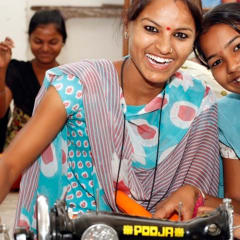 Sambhali Trust - Indian textiles sewing workshop
