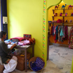 empowering Indian women - Indian textiles