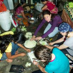 Mumbai recyclng workshops - making soap