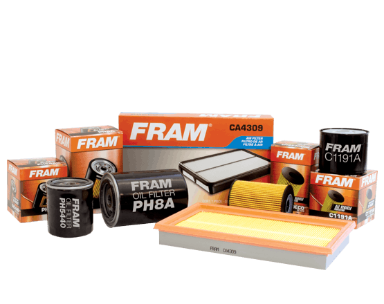 FRAM Oil, Fuel & Air Filters Now Available
