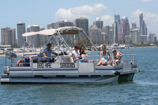 Boat Hire With Half Cabin - 4 Hours