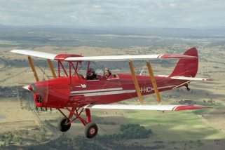Tiger Moth Aerobatic Flight - 30 Minutes