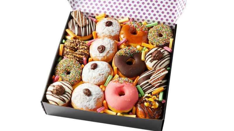 Assorted Donut Box Gift Box 15 Donuts
