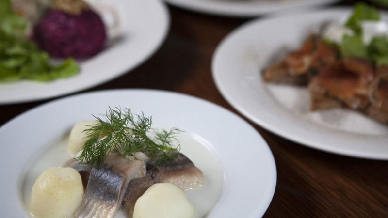 Russian 10 Course Degustation Dinner with Drinks - For 2 King Of Herrings