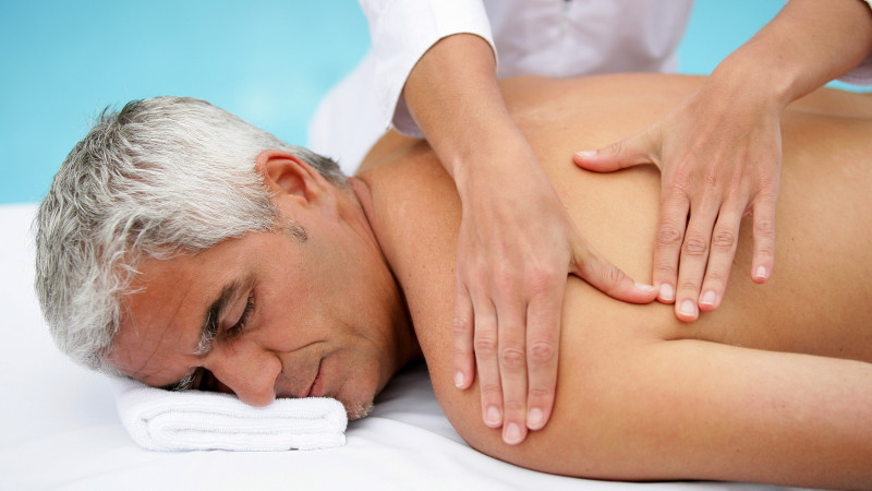 Mature male massage