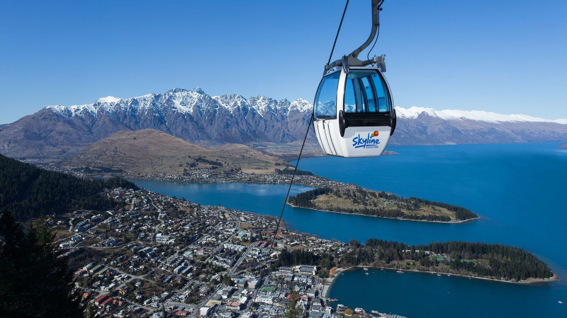 scenic gondola ride over queenstown and luge adventure. Black Bedroom Furniture Sets. Home Design Ideas