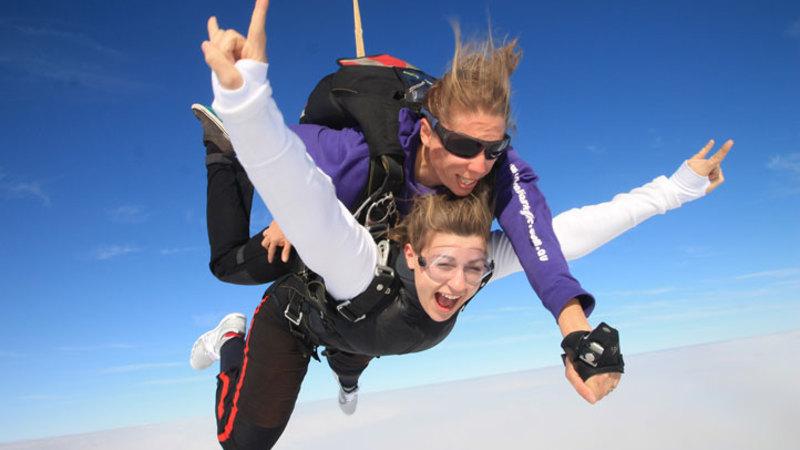 Sky Diving Tandem Jump Over Bells Beach Midweek 12 000ft